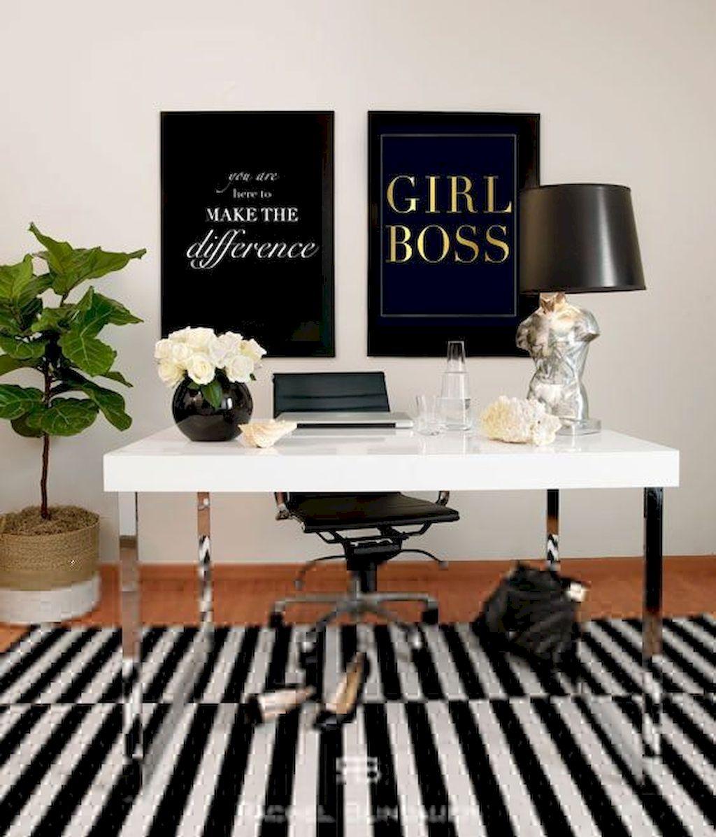 Modern Home Office Design Ideas 019