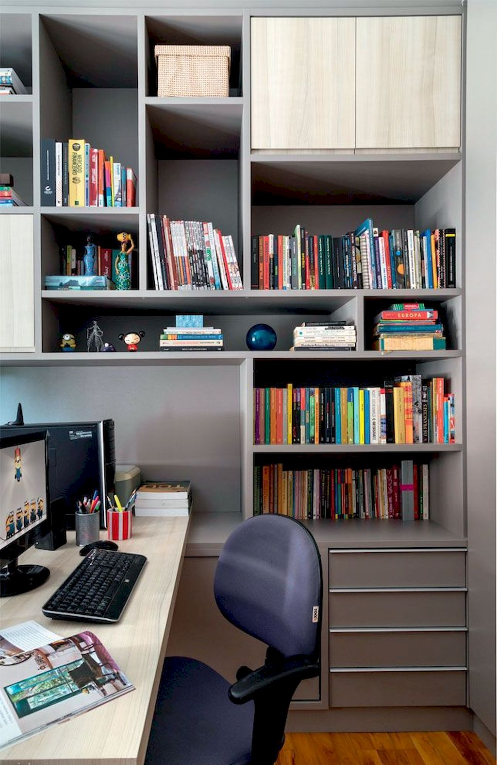 Modern Home Office Design Ideas 020