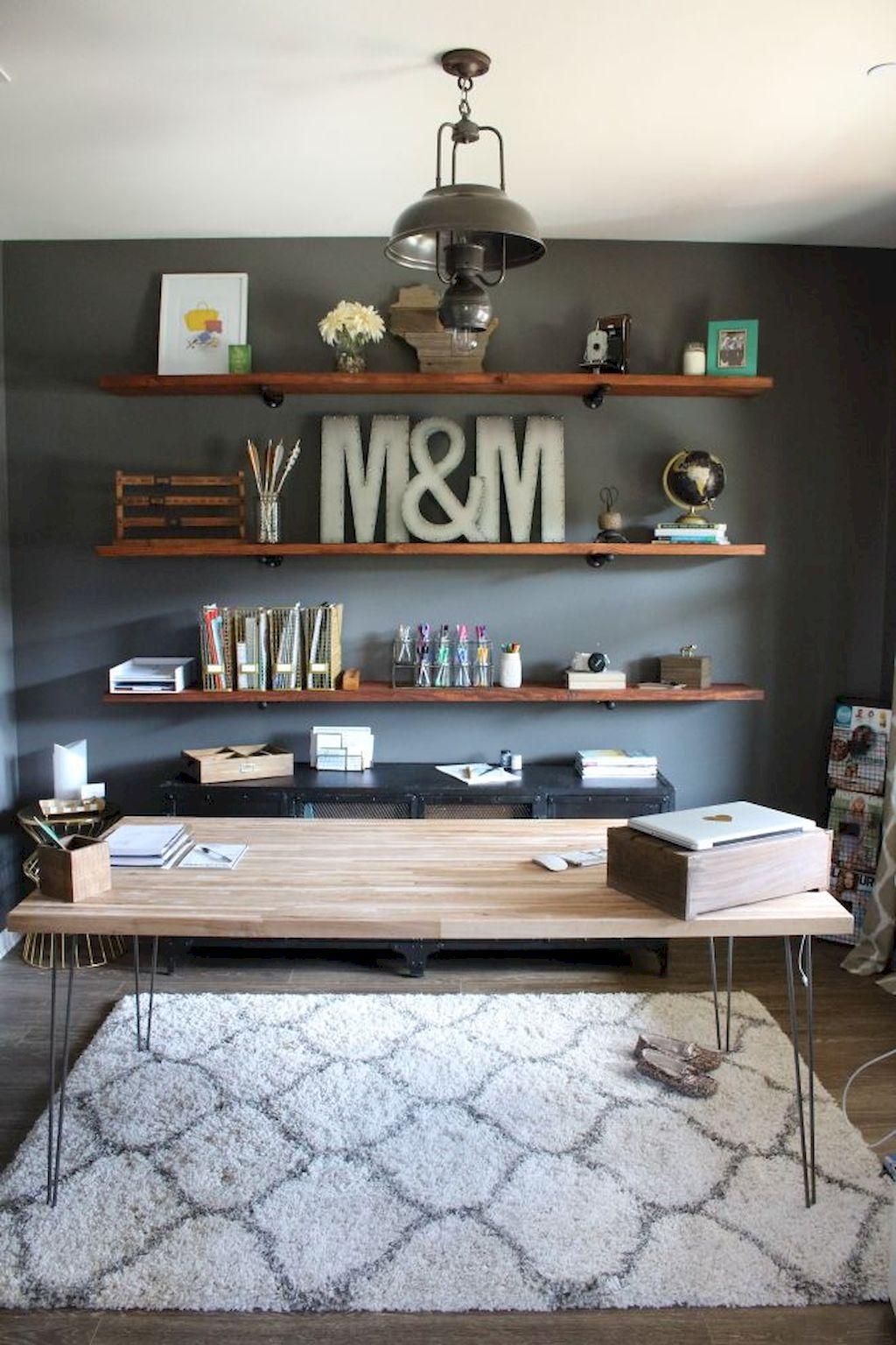 Modern Home Office Design Ideas 069