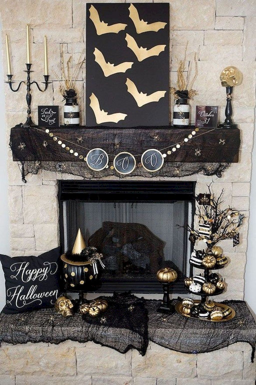 Spooky Halloween Party Decoration 072