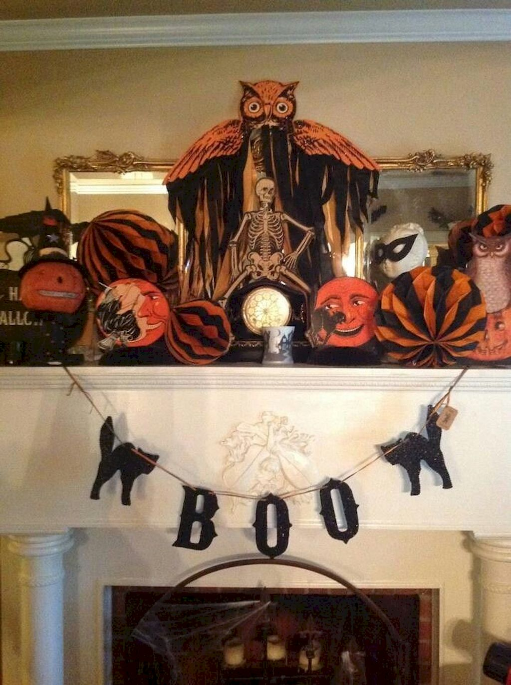Vintage Halloween Decorating Farmhouse For Spooky Home