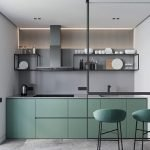 Choose best Color for small kitchen remodel 2