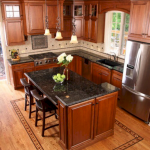Choose best Color for small kitchen remodel 57