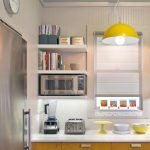 Choose best Color for small kitchen remodel 76