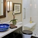 Enhancing The Feeling Of Space In Small Bathrooms 45