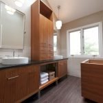 Enhancing The Feeling Of Space In Small Bathrooms 53