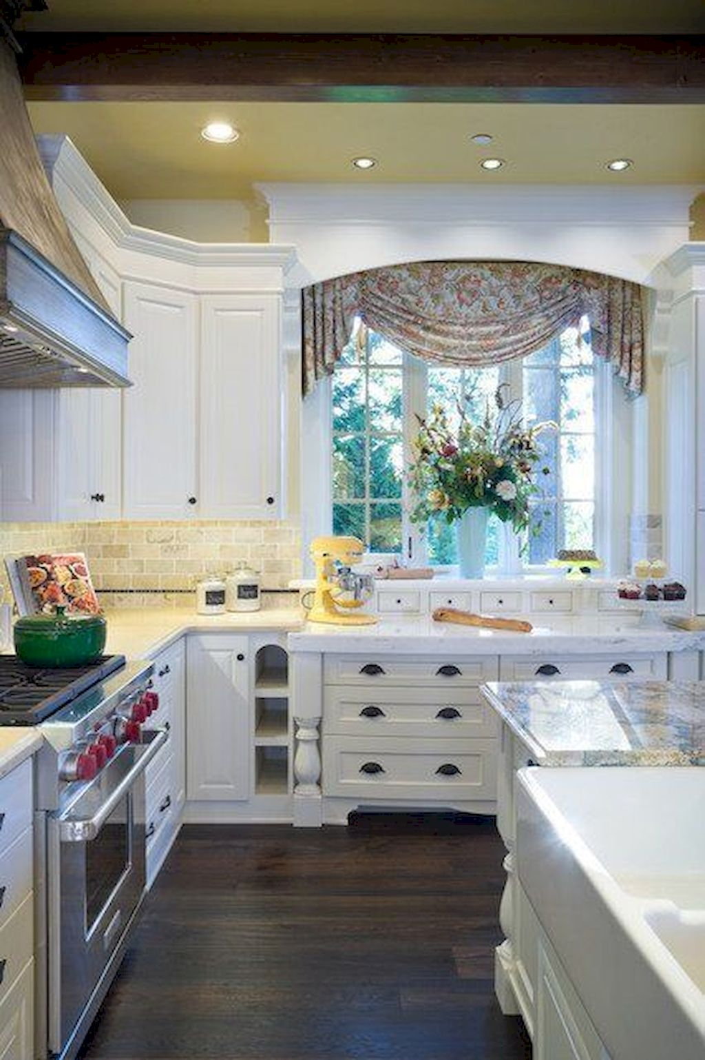 Kitchen Window Treatments Ideas For Less 60