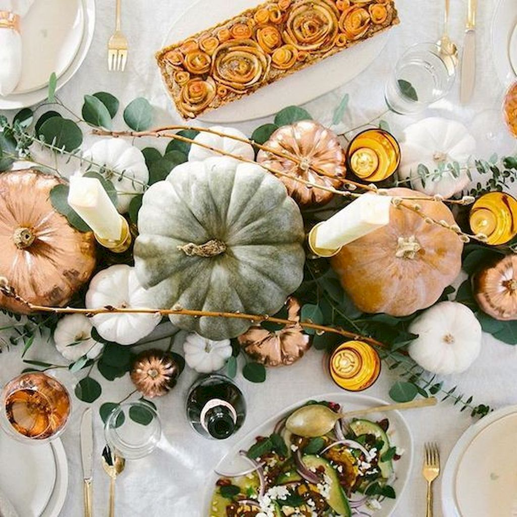 Thanksgiving Tabletop Crafts to Enhance Your Party 36