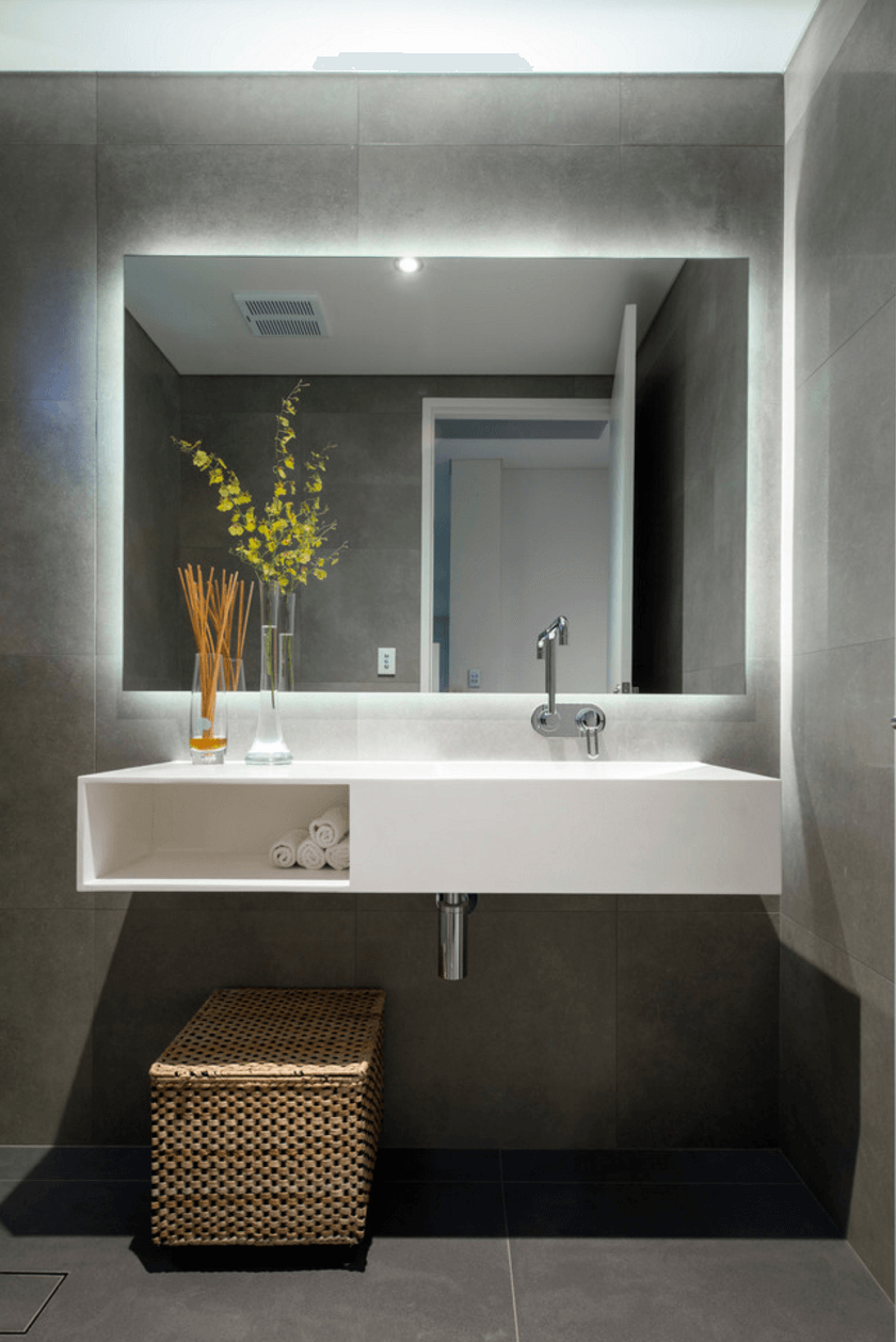 Contemporary Bathroom Mirror Ideas