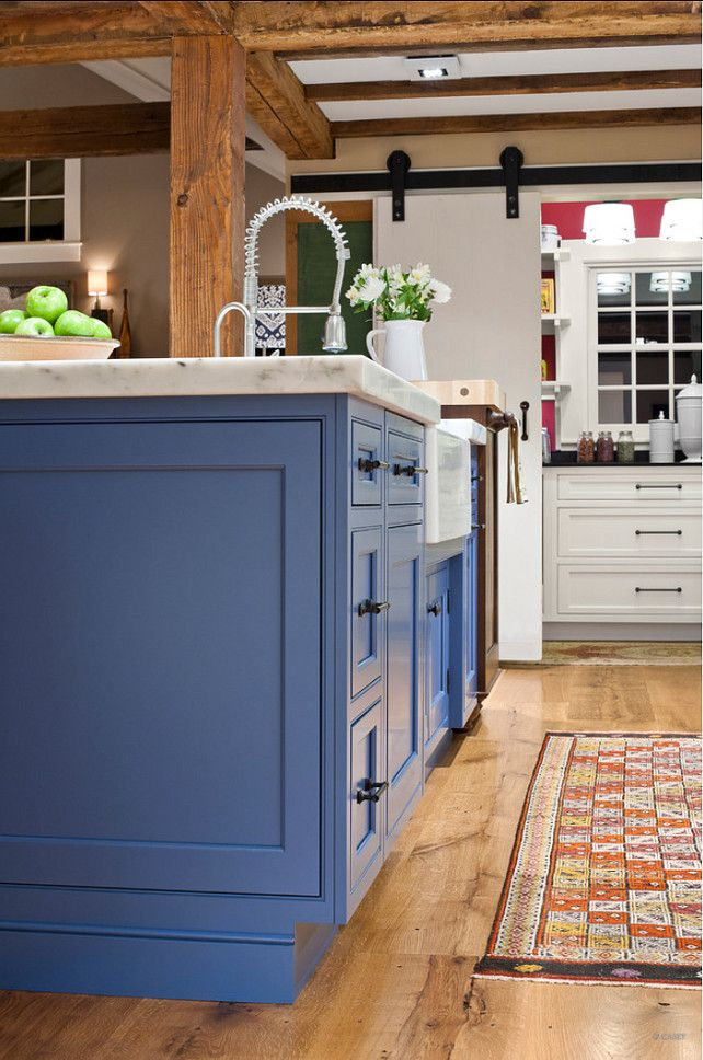 Blue Kitchen Cabinets Modern