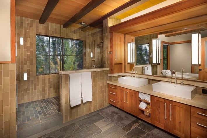 Fascinating yellow half bathroom ideas #halfbathroomideas #halfbathroom #bathroomideas #smallbathroom