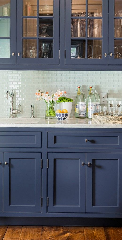 Blue Kitchen Tiles Ideas