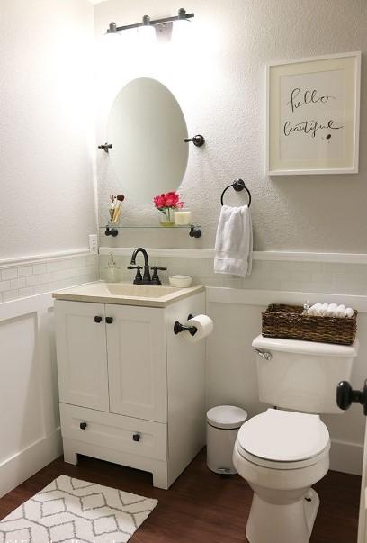 Amazing tiny shower room ideas #halfbathroomideas #halfbathroom #bathroomideas #smallbathroom