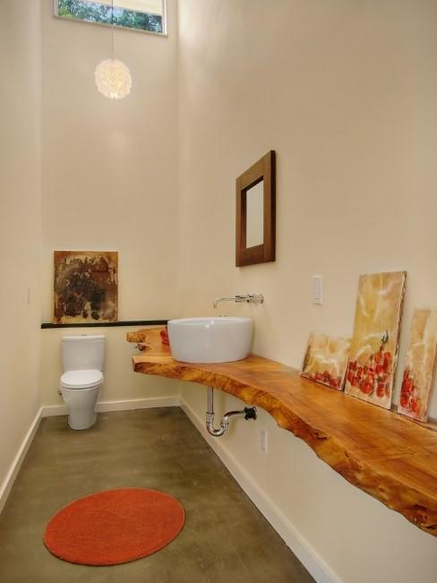 Beautiful yellow bathroom ideas #halfbathroomideas #halfbathroom #bathroomideas #smallbathroom