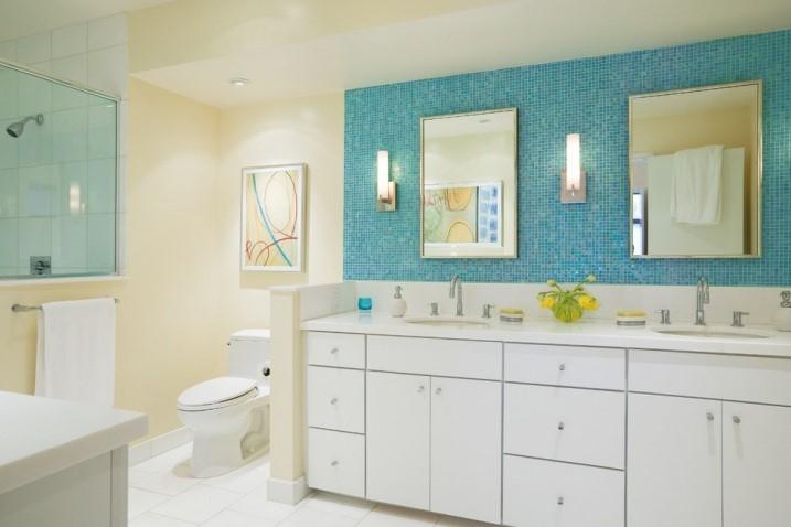 Gorgeous white bathroom tile ideas #halfbathroomideas #halfbathroom #bathroomideas #smallbathroom