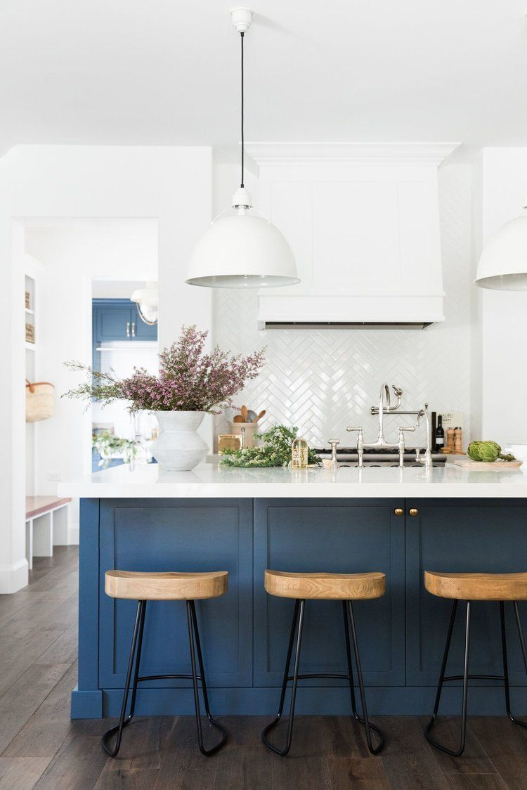 Are Blue Kitchen Cabinets In Style