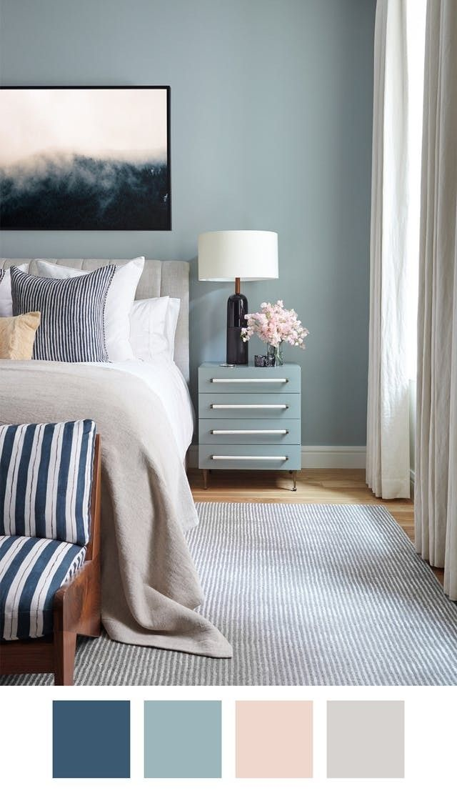 Bedroom Paint Colours Benjamin Moore