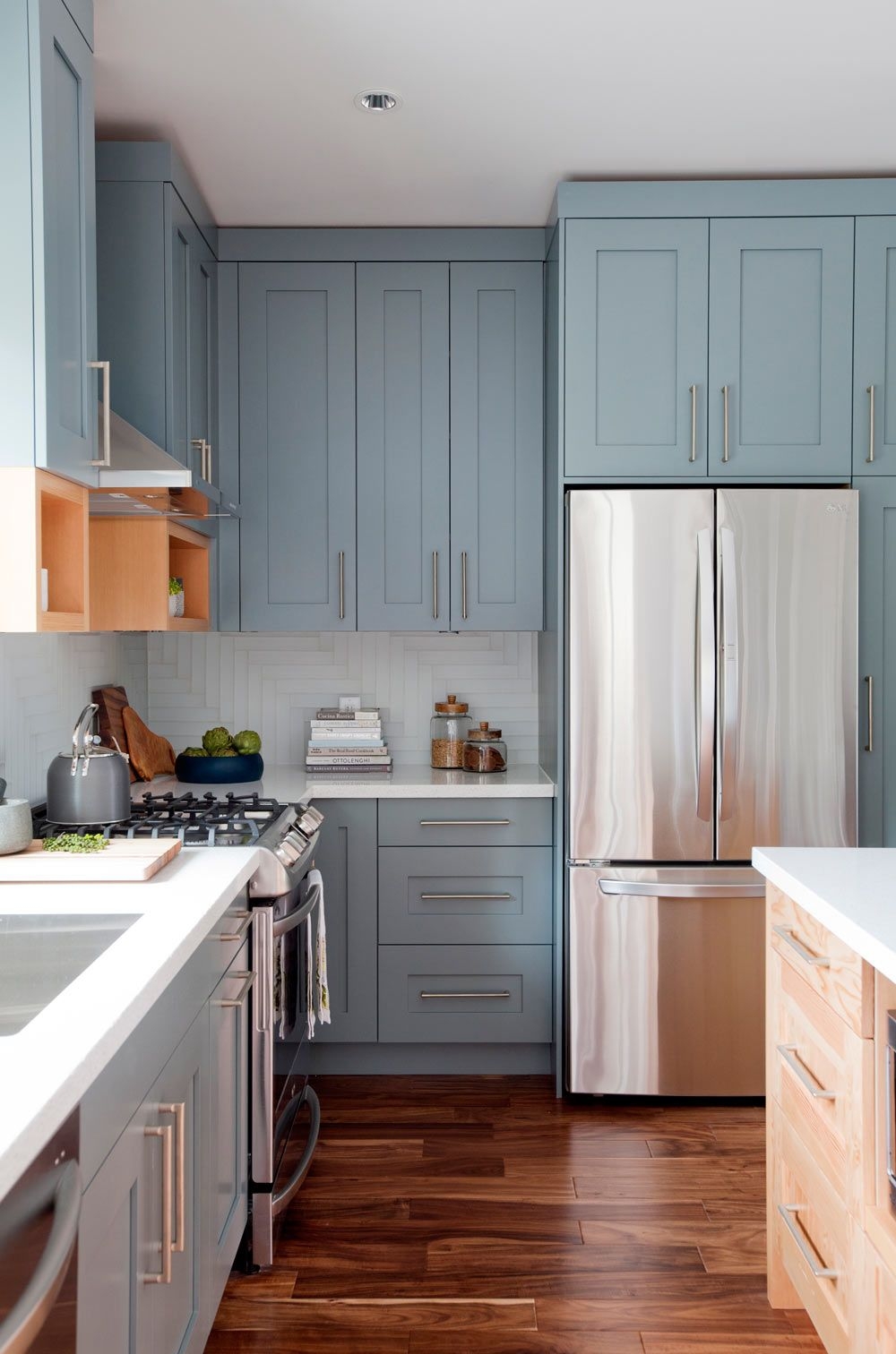 Blue Kitchen Ideas Pinterest