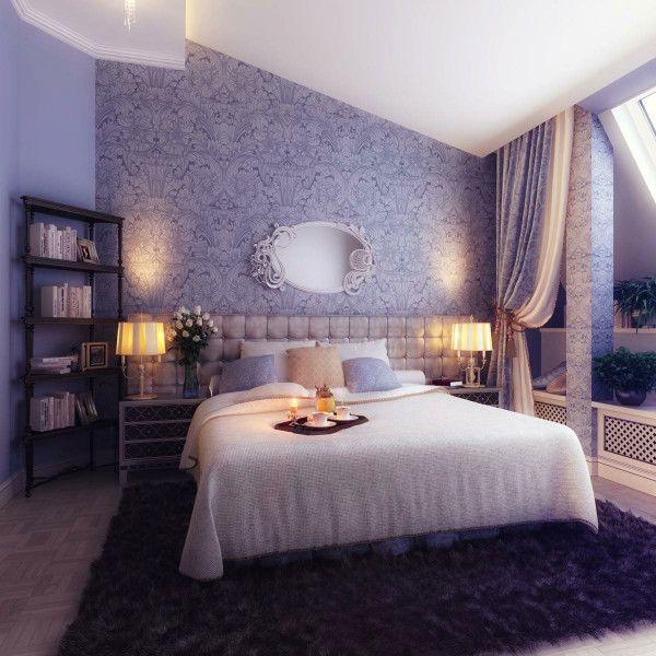 Purple Black Bedroom Decorating Ideas