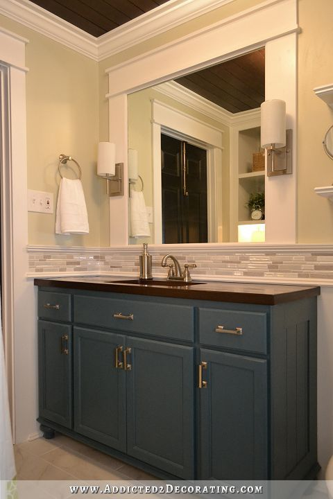 Bathroom Mirror Makeover Ideas
