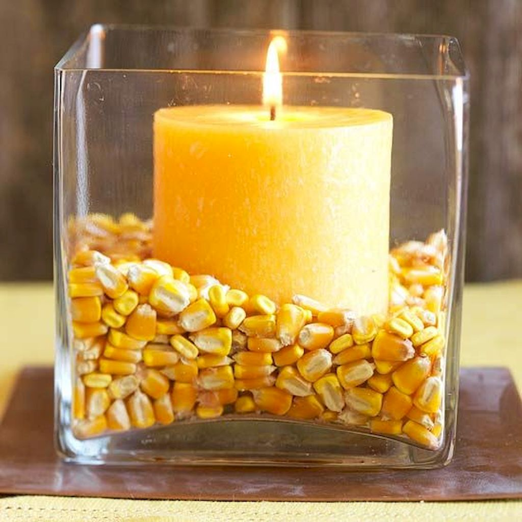 Adorable Thanksgiving Candle Displays Ideas And Placements