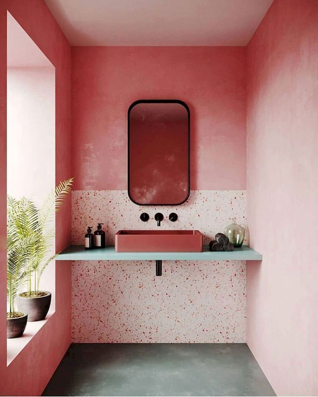 Amazing Stylish Color Scheme For Your Bathroom