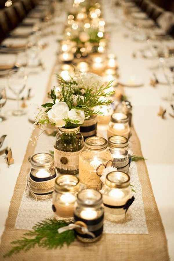 Astounding Beautiful Winter Wedding Decoration Ideas