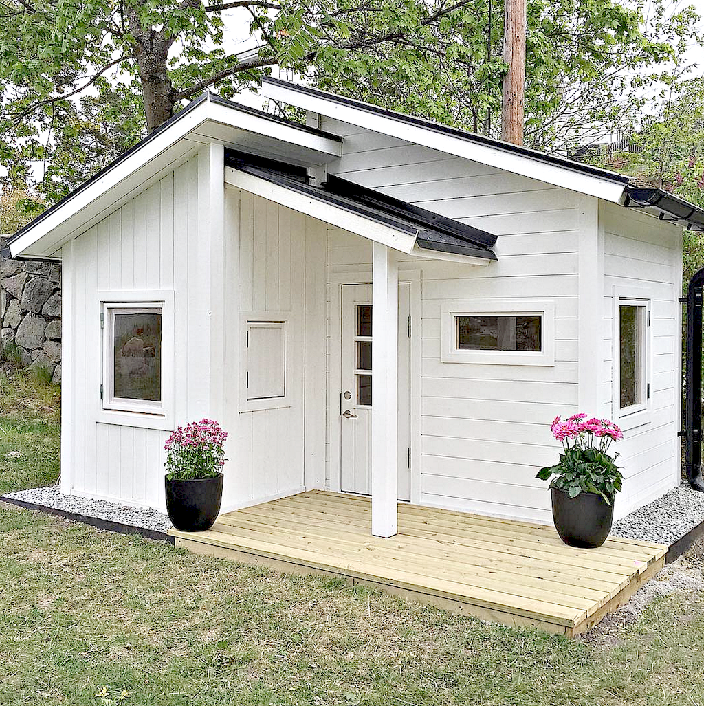 Astounding Playhouse Plan Into Your Existing Backyard Space