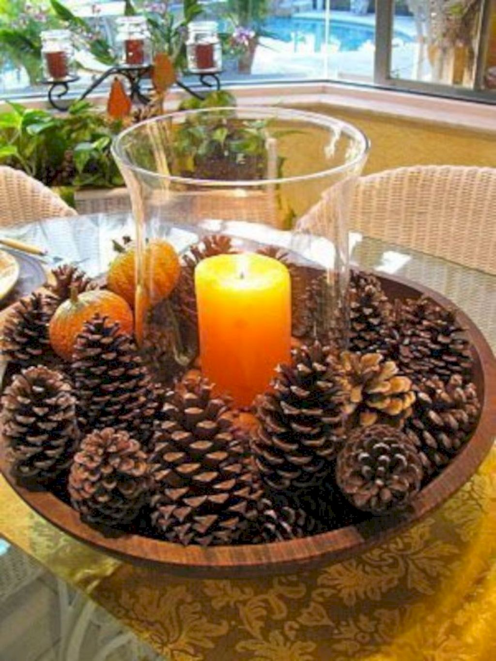 Astounding Thanksgiving Candle Displays Ideas And Placements
