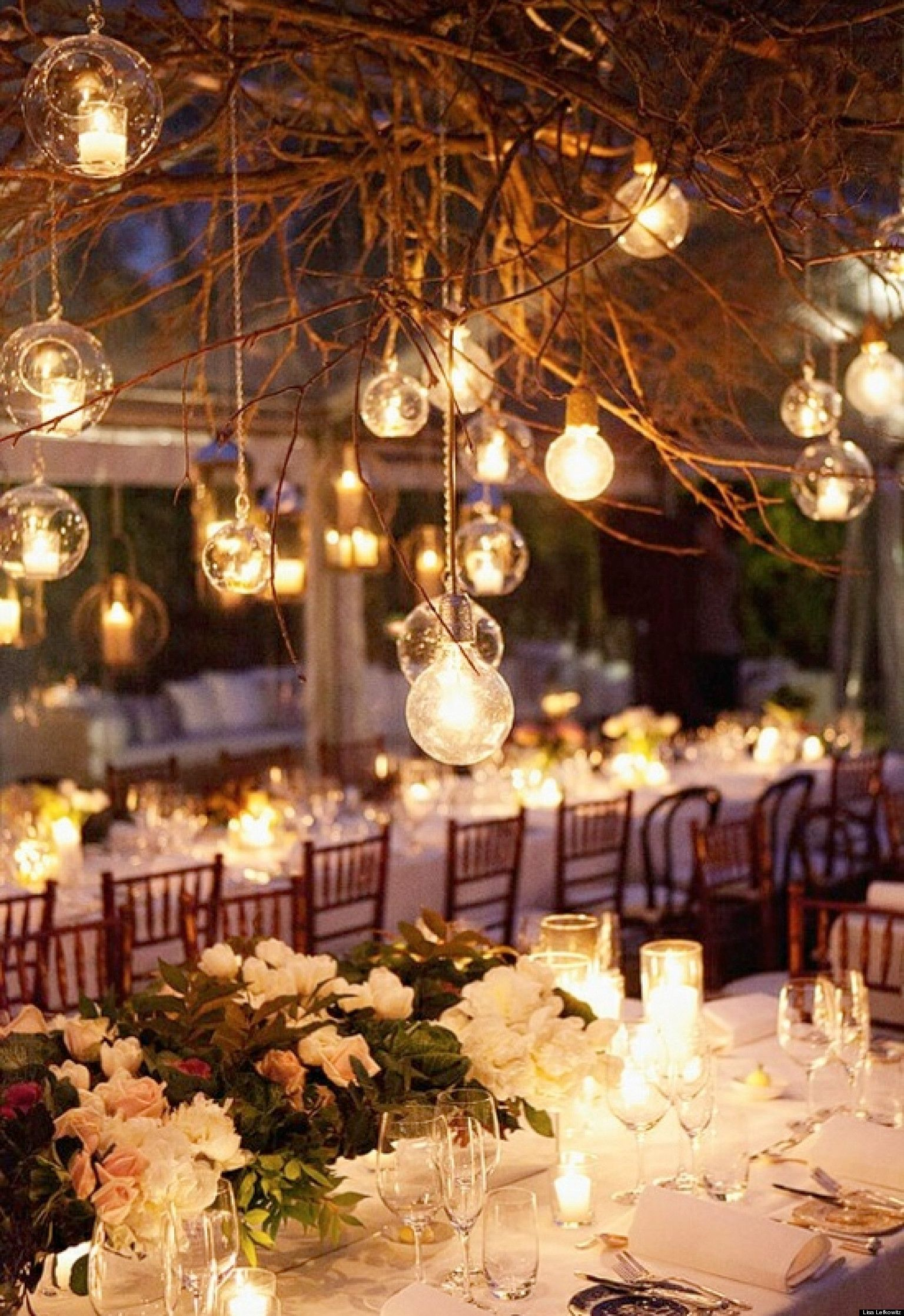 Attractive Beautiful Winter Wedding Decoration Ideas