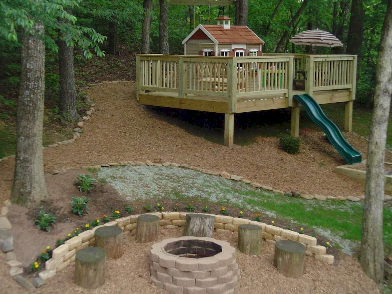 Awful Playhouse Plan Into Your Existing Backyard Space