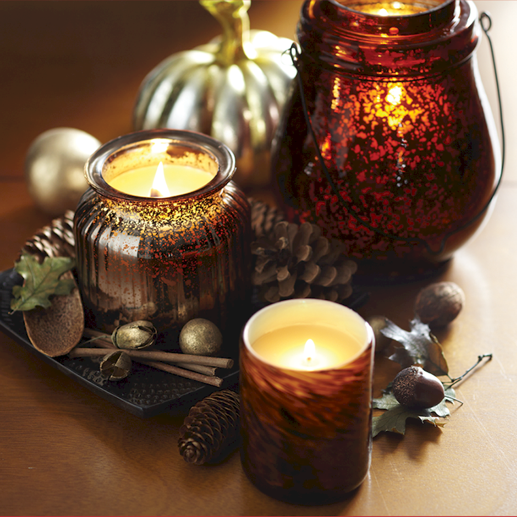 Awful Thanksgiving Candle Displays Ideas And Placements