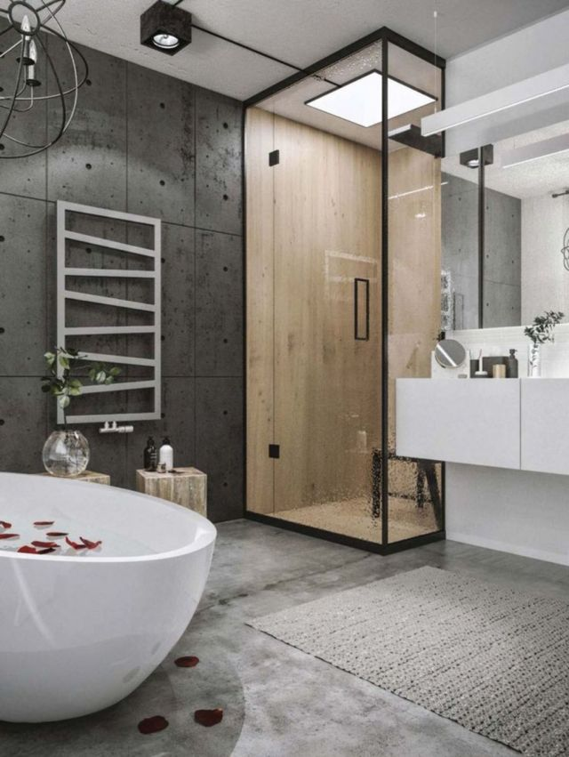 Bathroom Industrial Style Apartment 1