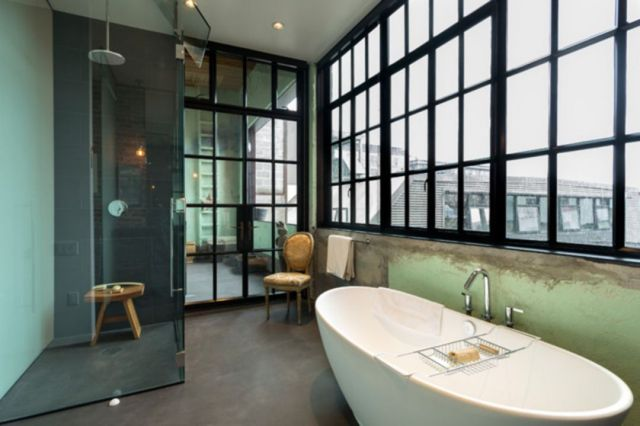 Bathroom Industrial Style Apartment 3