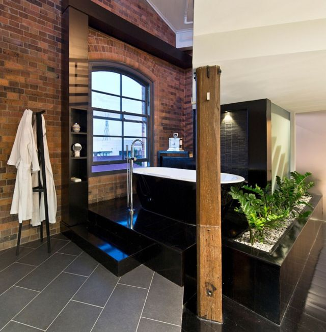 Bathroom Industrial Style Apartment 5