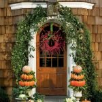 Beautiful Front Door Decoration For Fall 010