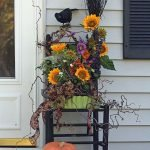 Beautiful Front Door Decoration For Fall 013