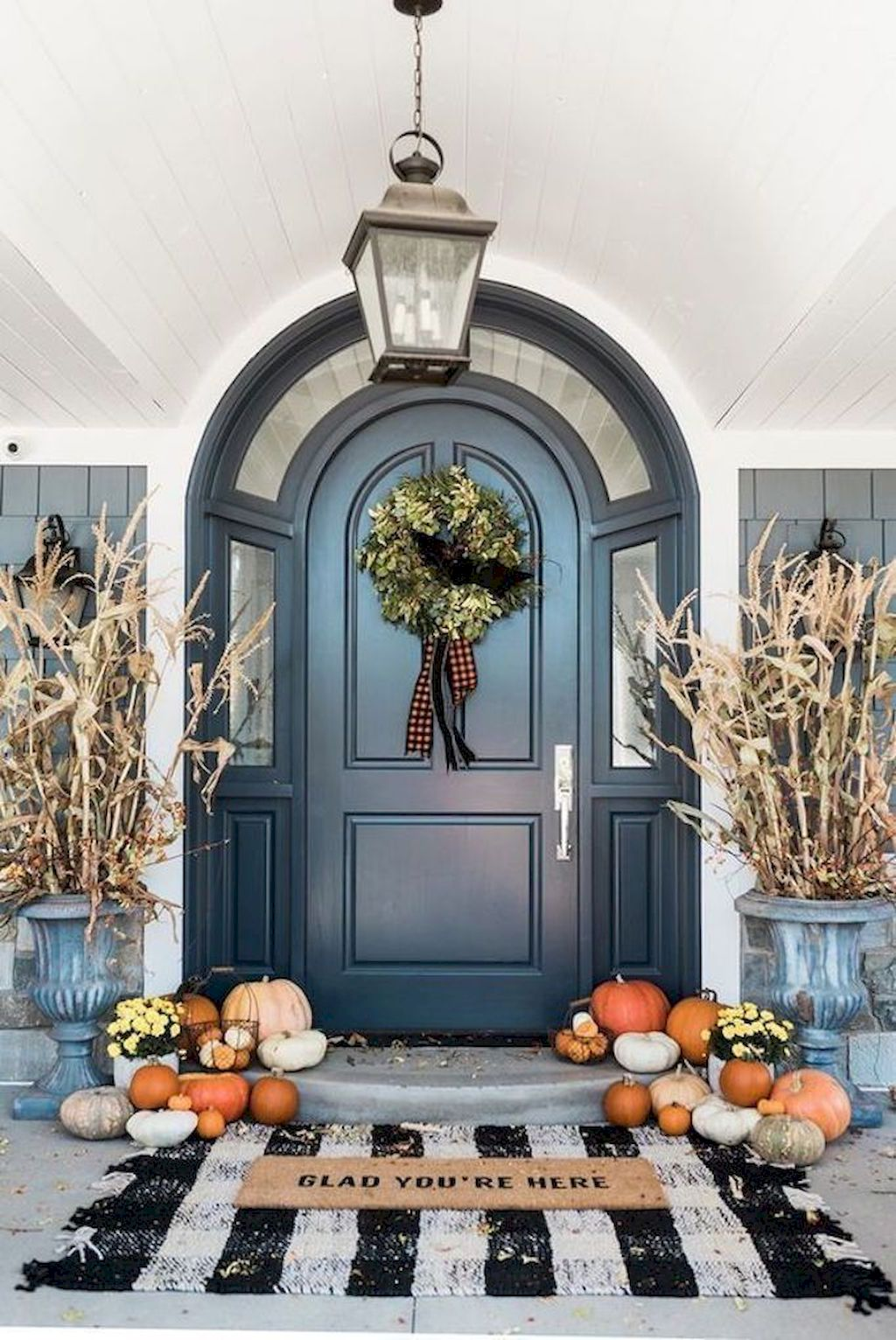 Beautiful Front Door Decoration For Fall 022