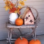 Beautiful Front Door Decoration For Fall 053