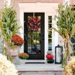 Beautiful Front Door Decoration For Fall 081