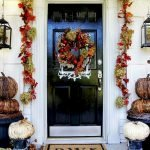 Beautiful Front Door Decoration For Fall 083