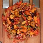 Beautiful Front Door Decoration For Fall 096