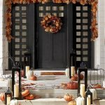Beautiful Front Door Decoration For Fall 126