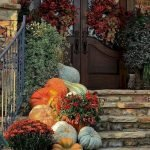 Beautiful Front Door Decoration For Fall 131