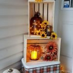 Beautiful Front Door Decoration For Fall 134