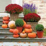 Beautiful Front Door Decoration For Fall 153