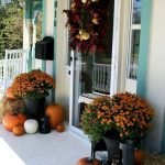 Beautiful Front Door Decoration For Fall 181