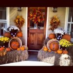 Beautiful Front Door Decoration For Fall 184