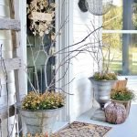 Beautiful Front Door Decoration For Fall 185