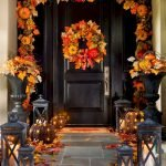 Beautiful Front Door Decoration For Fall 193